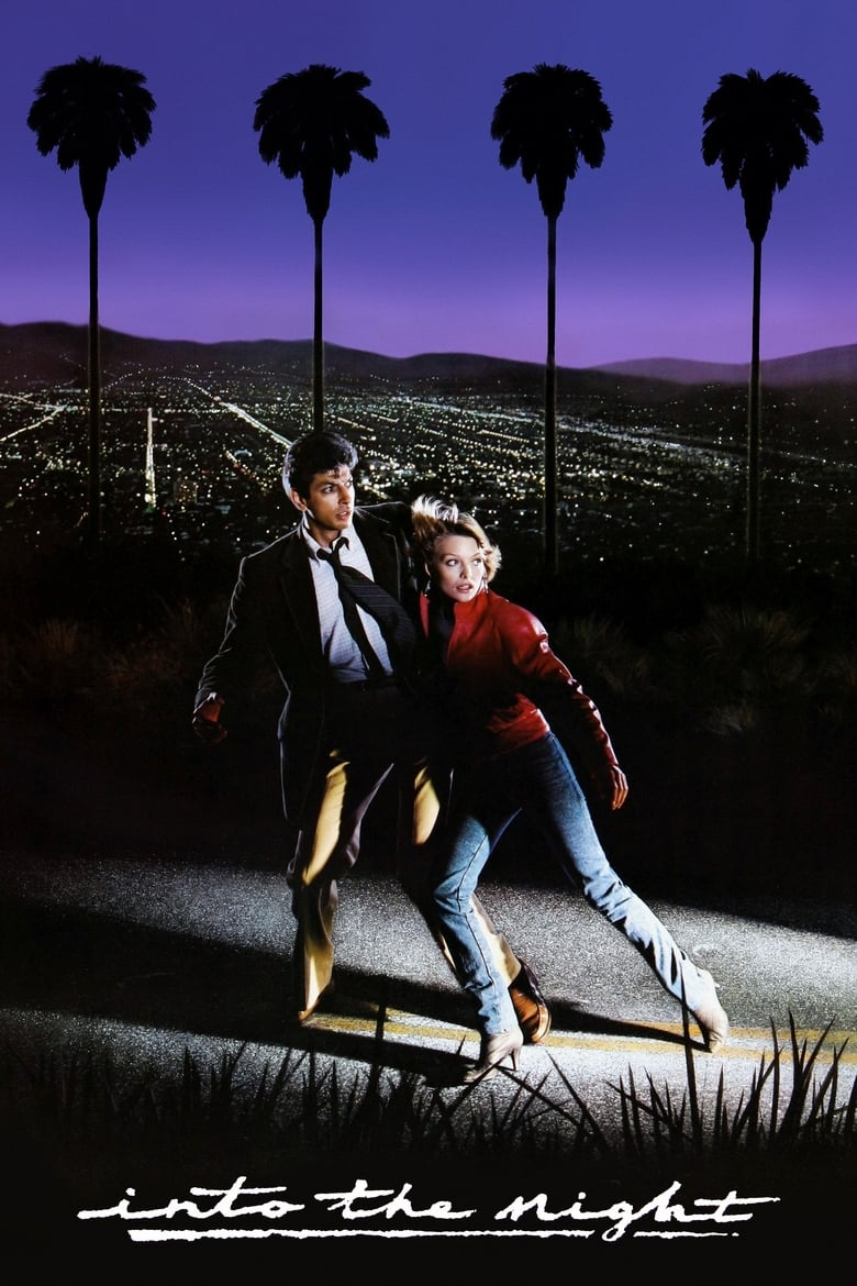 Into the Night (1985) movie poster